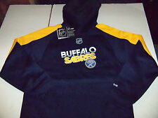 BUFFALO SABRES REEBOK PULLOVER HOODED SWEATSHIRT YOUTH SIZE LARGE (14-16) NWT