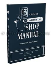 1955 Studebaker Auto Negozio Manuale 55 Champion Commander Presidente