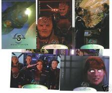 Babylon 5 Season Five card set $15BV