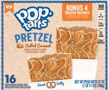 Kellogg's Pop Tarts Salatino 'SALTED CARAMEL' Tostapane Pastries 768gr ORIGINALE USA