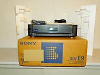 Sony SLV-E9 High-End VHS-Videorecorder, OVP&NEU, 2 Jahre Garantie