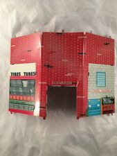 Tires Tubes Elevator Metal Wall from Marx Westgate Service Gas Station Set 1960s