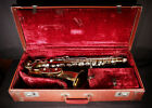 ANTIQUE c1900 BUFFET EVETTE SCHAEFFER MODEL SAXOPHONE WITH CASE AND ACCESSORIES