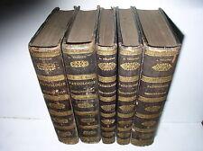 A. NELATON - ELEMENS DE PATHOLOGIE CHIRURGICALES [5 VOL.] - 1844-1859