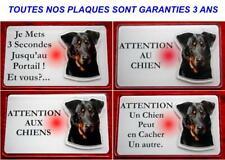 Plaque Panneau Pancarte chien beauceron 9 - Dim 12.5 x 0.75 cm