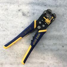 Irwin Vise-Grip Wire Stripper, Self-Adjusting, 8-Inch (2078300)