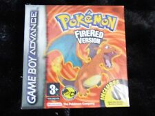 POKEMON FIRE RED NINTENDO GAME BOY ADVANCE scellé jeu officiel UK RARE.