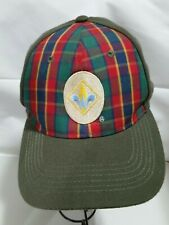 Baseball style cap/hat-BOY SCOUTS-WEBELOS-adult hat-fitted-L/XL