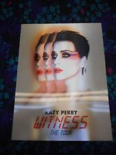 Katy Perry - Original Hard Plastic Witness Tour Concert Poster - Kewl!