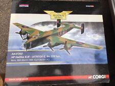 Corgi AA37202 HP Halifax B.III Cyril Barton VC Burn 1944 Ltd Ed. 932 of 2210