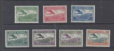 ALBANIA 1925 Air set of 7 MH  SG 186/192