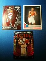 Lot of 3 - Rui Hachimura Donruss Rated Rookie and Prizm Non Auto 2019-20 RCs