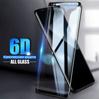 Full Cover 6D Tempered Glass Samsung S8 S9 Plus Note 8 S7 Edge Screen Protector