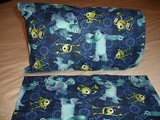 Monsters University Mike & Sully Cotton Toddler/Travel Size Pillowcase (1)