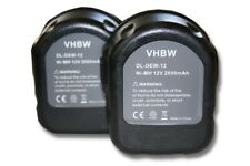 chargeur pour rems 571510 571510 r12 571513 2in1 set Batterie 12v 3300 mAh