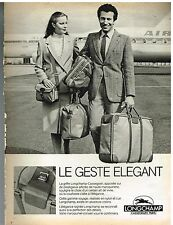 Publicité Advertising 1981 Les Bagages et sacs à main Longchamp