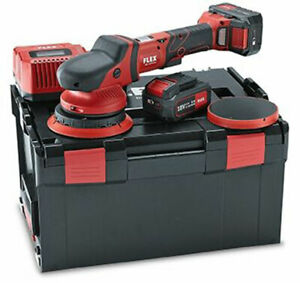 FLEX XFE 15 18V Battery Powered Cordless Dual Action Polisher