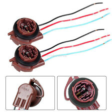2p 3157 3357 4157 Brake Turn Signal Light Pre-Wired Socket Harness Wires For LED