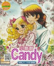 Candy Candy (Vol.1-115 End) DVD Anime _ English Sub _ All Region _ Complete Set