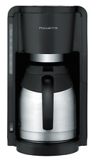 Rowenta Thermo Filterkaffeemaschine Milano Edelstahl CT3818 schwarz 800 Watt