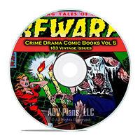 Crime Drama, Suspense, Vol 5 Crime Mysteries, Reporter Golden Age Comics DVD D78