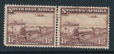 SOUTH WEST AFRICA, 1937 1½d se-tenant pair MM, cat £29