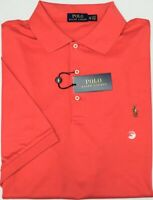 NWT $98 Polo Ralph Lauren Short Sleeve Red Shirt Mens Size XLT Tall NEW Cotton