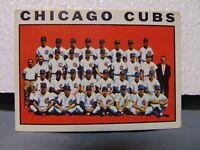 1964 Topps Baseball Chicago Cubs team card #237