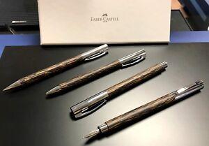 Faber-Castell Ambition Cocos Füllhalter B Tintenroller Kugelschreiber Bleistift