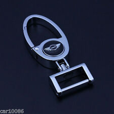 High quality car logo key chain Metal alloy Keychain Key Ring For MINI COOPER