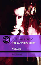 Good, The Vampire's Quest (Mills & Boon Intrigue), Anna, Vivi, Book