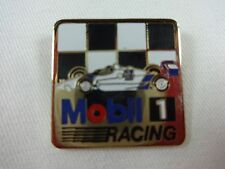 Mobil 1 Racing IndyCar Checkered Flag Sponsors Collector Lapel Pin