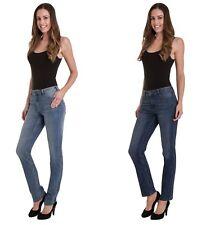 Ex M&S Indigo Collection Women's Ladies Straight Leg Stretchy Jeans Size 6-22 UK