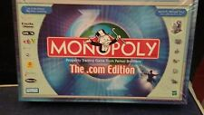 NEW MONOPOLY THE .COM EDITION:2000 PARKER BROTHERS/HASBRO Sealed