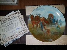 Bradford Exchange Collectors Plate in Box - American Journey : Westward Ho P14