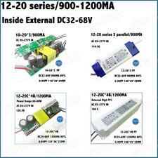 2Pieces LED Driver AC85-277V 40-80W12-20x3-4B 0.9-1.2A DC35-68V Inside External