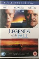 Legends Of The Fall (DVD) Anthony Hopkins, Brad Pitt New Sealed Free UK P&P