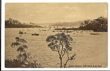 Sydney Harbour From South Head Road, NSW PPC, Unposted, By Swain & Co*