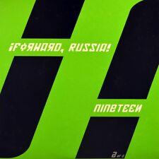 "7"" ¡FORWARD, RUSSIA! Nineteen DANCE TO THE RADIO Green Indie Rock 2006 like NEW!"