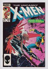 Uncanny X-Men #201 (VF, 1986, 1stNathan Summers, Marvel)