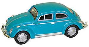 VW Beetle Mint Green - 1:87 / H0 Gauge - Model Power (19171)