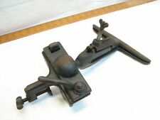 Antique Sargent 105 Ball Joint Saw Vise Clamp Wood Sharpening Tool Bench Mount