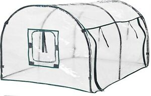 120cm Tunnel Greenhouse Hothouse For Growing Tomatoes & Vegetables 4ft