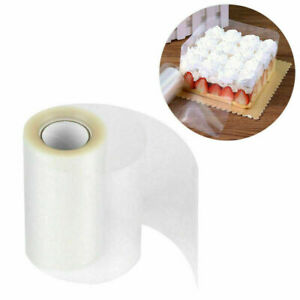 Clear Cake Collar Kitchen Mousse Cake Surrounding Edge Wrapping Tape For Kitchen