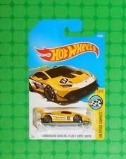 2017 Hot Wheels Speed Graphics #107 - Lamborghini Huracan LP 620-2  Intl. Card