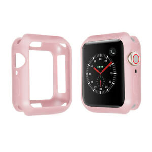 For Apple Watch Series 6 SE 5 4 3 2 Ultra Thin Soft TPU Case 38mm 40mm 42mm 44mm