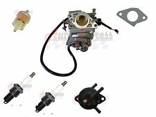 Carburetor Carb for Honda w Fuel Pump Filter Plugs GX620 Gx610 Mower Gas Engine