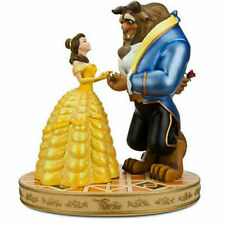 New Disney Parks Beauty and The Beast: Medium Big Fig Figure Statue