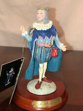 Duncan Royale History Of Santa Claus By M.E. Duncan Sir Christmas Figurine P/O
