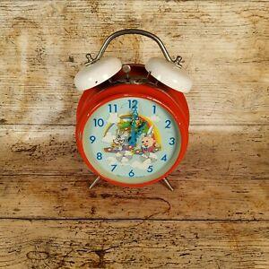 Vintage 1987 Warner Bros Metal Wind Up Alarm Clock Bugs Bunny - Repair Project